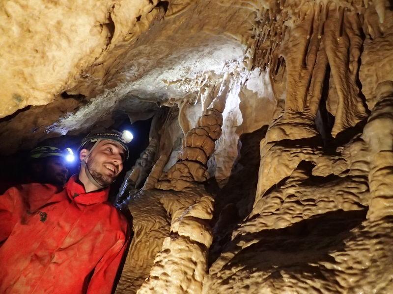 Spéléologie Grotte du Curé en Chartreuse