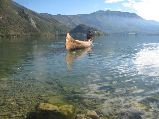 Canoe Canadien Vs 2copyright Vertes Sensations Bd