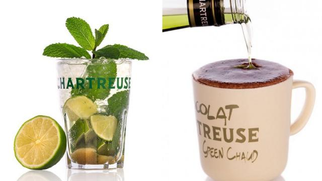 Liqueur Chartreuse Et Green Chaud