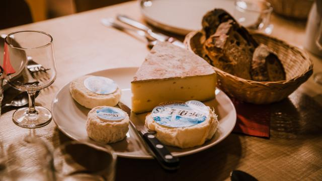 Restaurant Saint Pierre De Chartreuse Ferme De La Brévardière