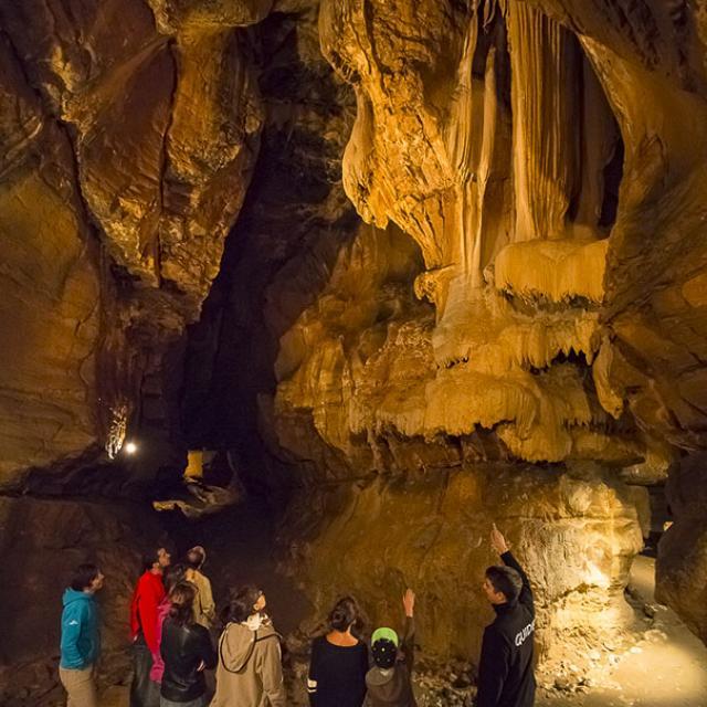 Grotte Superieure De Saint Christophe Scalpfoto