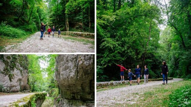 Grottes De Saint Christophe En Famille