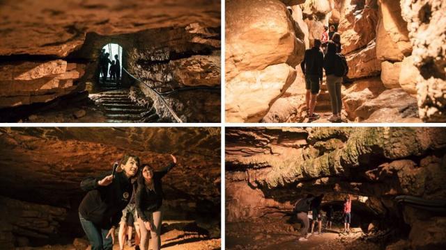 Grottes De Saint Christophe, Visite