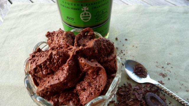 Mousse Chocolat Liqueur Chartreuse